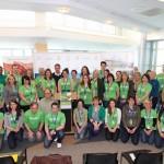 Group shot of TBRHSC employs for Respect