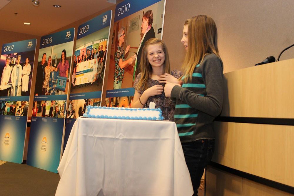TBRHSC 10 year anniversary cake