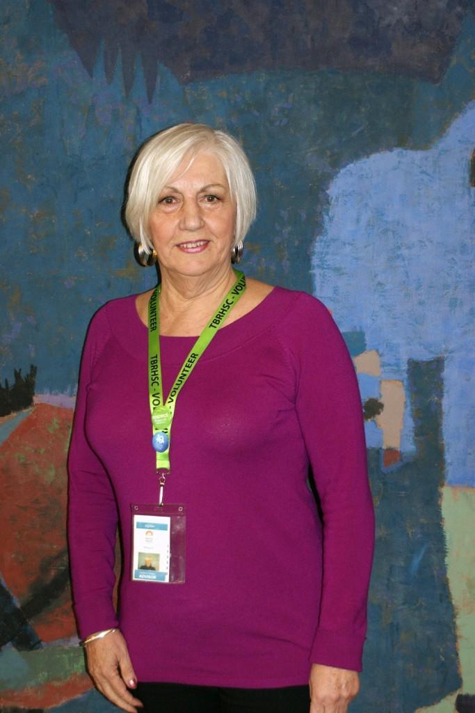 Volunteer Marga Bond