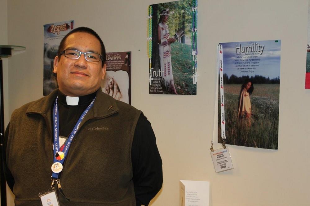 Michael Robinson, Spiritual Care Provider at Thunder Bay Regional Health Sciences Centre,