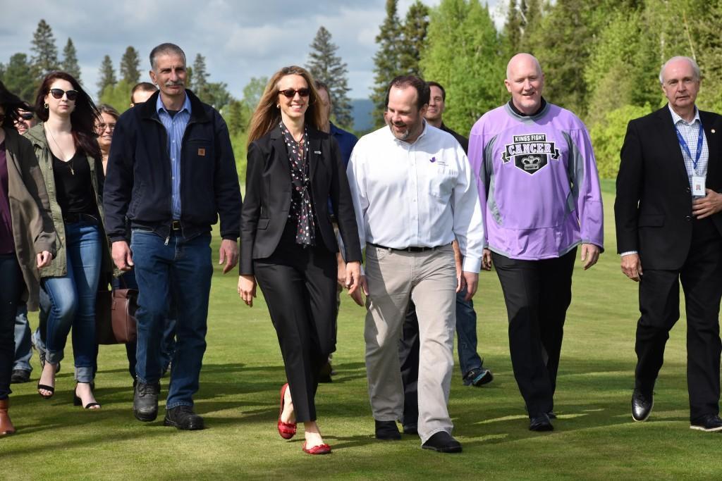 Bombardier Charity Walk