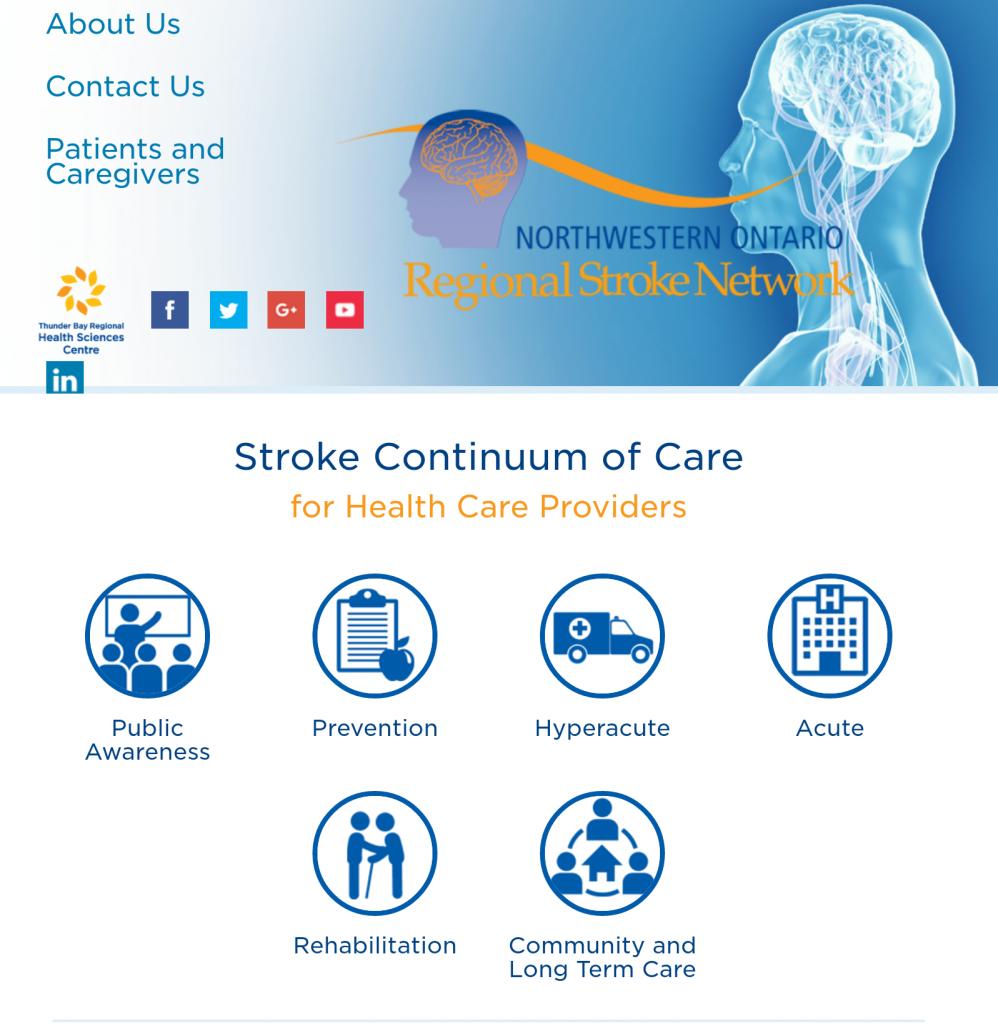 NWO Regional Stroke Website
