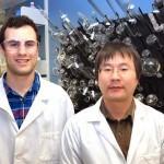 Daniel Tesolin and Dr. Shusheng Wang