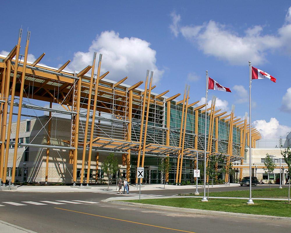 TBRHSC Exterior, Main Entrance