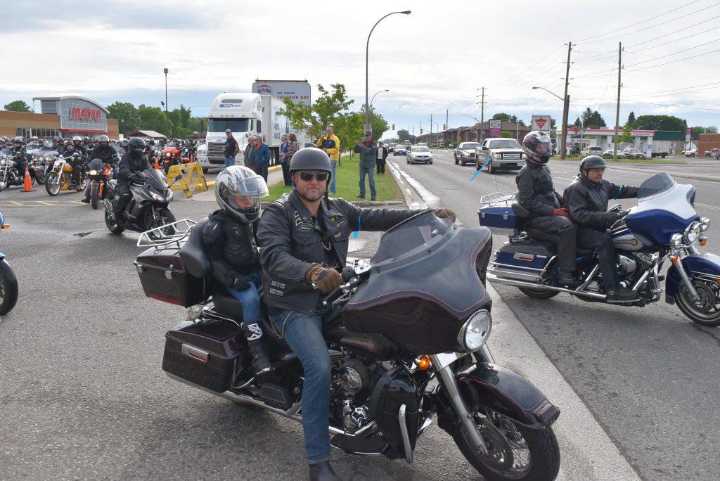 David and Kaden - Motorcycle