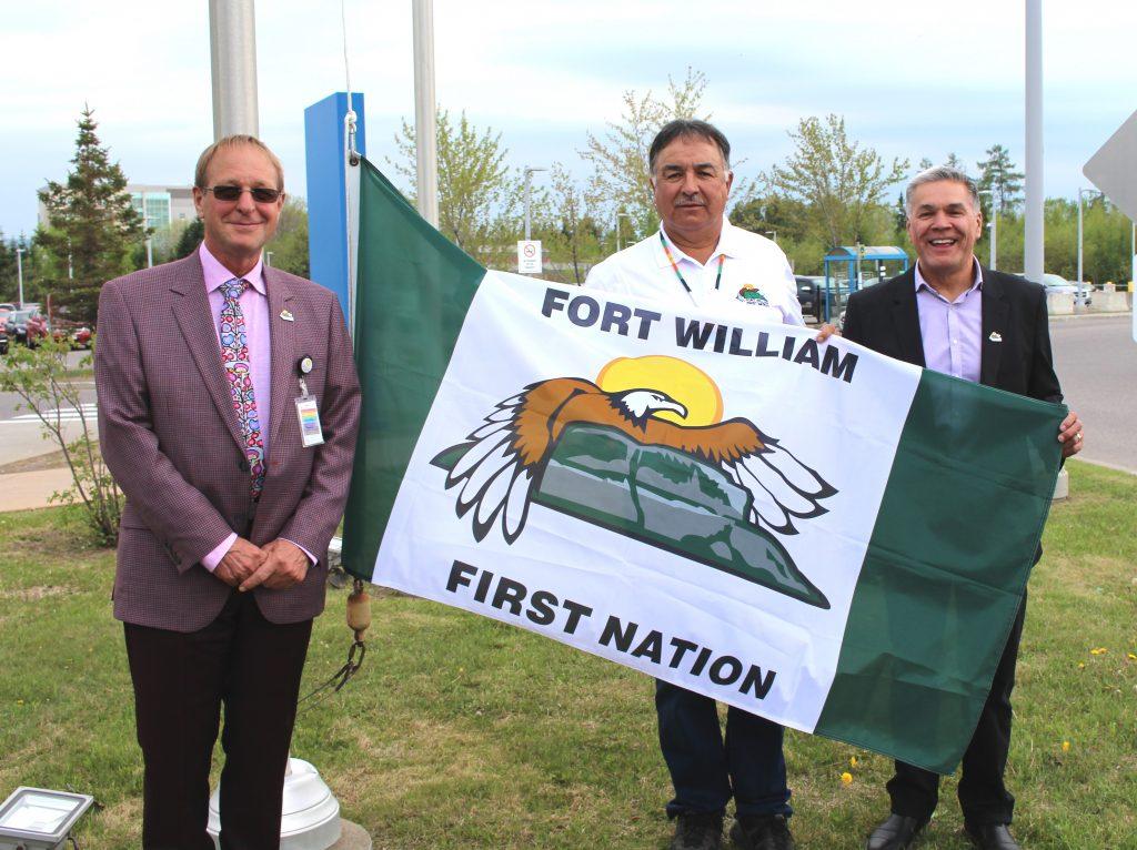 FWFN Flag Raising
