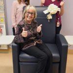 Chemo chair donation