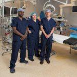 The three vascular surgeons at Thunder Bay Regional Health Sciences Centre